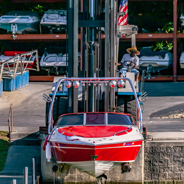 Choto Marina Boat Lift